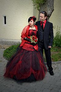 Mariage othique et rock